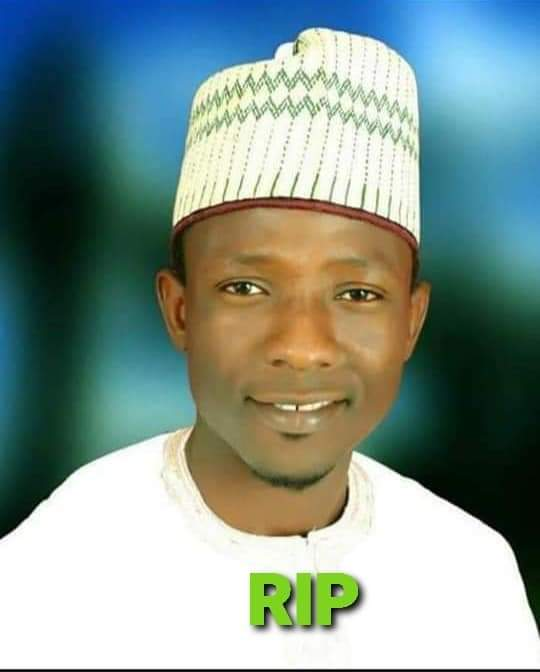 Late Rabiu Auwal one of the two killed on Friday in Kaduna Railway Station Road attack.