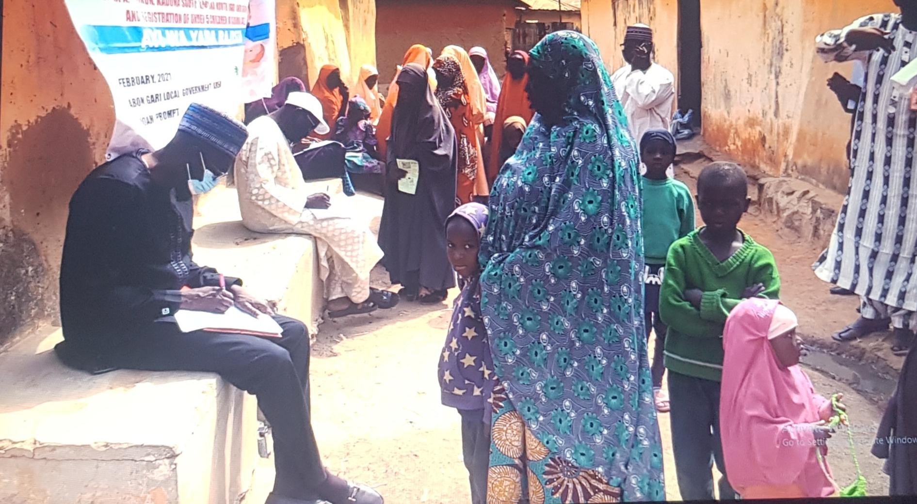 NOA BIRTH RESGISTRATION IN HANWA, ZARIA.